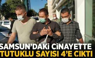 Samsun'daki cinayette tutuklu sayısı 4'e çıktı