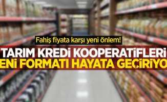 Fahiş fiyata karşı yeni önlem! Tarım Kredi Kooperatifleri'nden yeni format