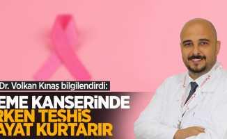 Op. Dr. Volkan Kınaş bilgilendirdi: Meme kanserinde erken teşhis hayat kurtarır
