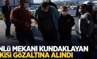 Ünlü mekanı kundaklayan 2 kişi gözaltına alındı