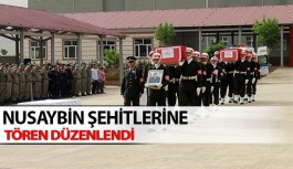 Nusaybin Şehitleri Mardin'den Törenle Uğurlandı