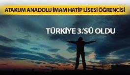 Samsun'lu Öğrenci Yarışmada Yaptığı Fotoğraf İle Türkiye 3.'Sü Oldu