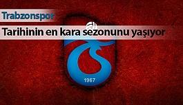 Trabzonspor Tarihinin En Kötü Sezonunu Yaşıyor