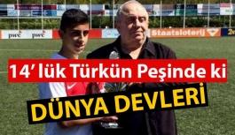Manchester United, 14 yaşındaki Türk futbolcunun peşinde