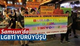 Samsun'da LGBTİ Eylemi