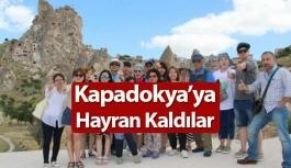 Kapadokya'ya bayıldılar