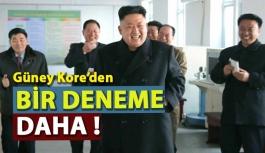 Kuzey Kore'den Bir Deneme Daha