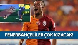 Podolski Fenerbahçelileri kızdırdı!