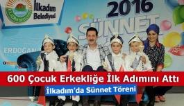 Samsun'da 600 Çocuk Sünnet Oldu