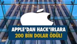 Teknoloji devi Apple'ı hack'leyene ödül 200 bin dolar