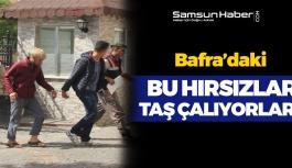 Bafra'daki Hırsızlar Taş Çalıyor !