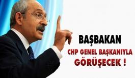 Başbakan CHP Genel Başkanı ile Görüşecek