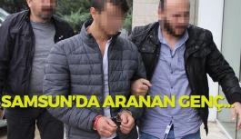 Samsun'da Aranan Genç ...