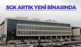 SGK Samsun İl Müdürlüğü Yeni Binasında