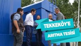 Tekkeköy'e 3 bin kişi kapasiteli tesis