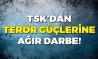 TSK'dan Terör Güçlerine Büyük Darbe!