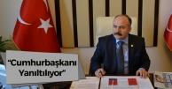 Erhan Usta: 'Cumhurbaşkanı yanıltılıyor'