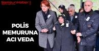 Samsun'da Yaşamını Yitiren Polis Memuruna Acı Veda