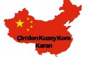 Çin'den Kuzey Kore'ye Yaptırım
