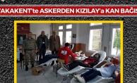 Yakakent'te Askerlerden Kan Bağışına Katkı