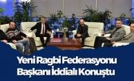 Yeni Ragbi Başkanından Rektör Bilgiç'e Ziyaret