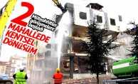 Samsun'da iki mahalle kentsel dönüşüme hazırlanıyor