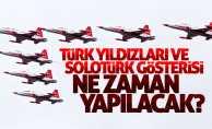 Samsun'da Solotürk ve Türk Yıldızları programı ne zaman?
