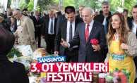 """Samsun'da """"3. Ot Yemekleri Festivali"""""""