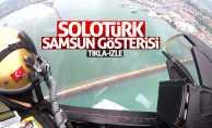 SOLOTÜRK Samsun uçuş görüntülerini yayınladı