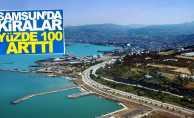 Samsun'da kiralar yüzde 100 arttı