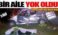 Samsun'daki feci kazada bir aile yok oldu!