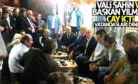 Samsun Valisi Şahin ve Başkan Yılmaz halkla iç içe