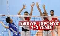 Türkiye, Japonya'yı 3-0 yendi