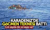 Karadeniz'de göçmen teknesi battı: 4 ölü, 20 kayıp