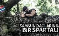 Samsun dağlarında bir Spartalı