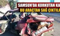Samsun'da korkutan kaza: 3 yaralı