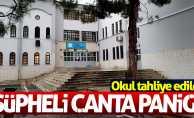 Samsun'da şüpheli çanta paniği okul boşalttırdı