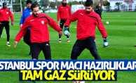 Samsunspor'un İstanbulspor Hazırlıkları tam gaz sürüyor