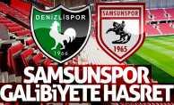 Samsunspor galibiyete hasret 0-0