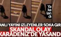 Karadeniz'deki skandal olayla ilgili gözaltı