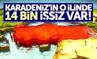 Karadeniz'in o ilinde 14 bin işsiz var