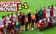 Samsunspor, Atakumspor'u 2-1 yendi