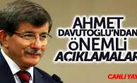 Ahmet Davutoğlu'ndan Samsun'da önemli açıklamalar