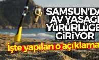 Samsun'da av yasağı başlıyor