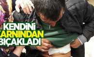 Samsun'da bunalım giren adam kendini bıçakladı