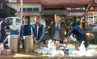 Samsun'daki o okuldan anlamlı etkinlik