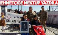 Samsunlu öğrenciler Afrin'deki Türk askerine mektup yazdı