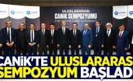 Canik'te Uluslararası Sempozyum Başladı