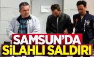 Samsun'da bir eve silahlı saldırı düzenlendi