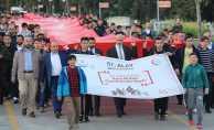 Samsun'da vefa yürüyüşü